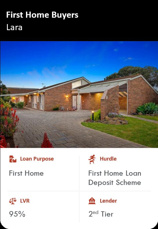 Lara 1st Home Buyer